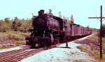 CP 4-6-0 ARRIVING AT McAdam